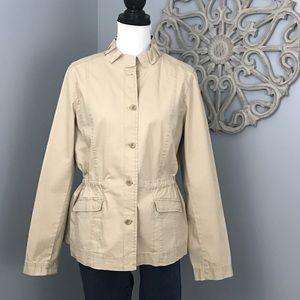 Eileen Fisher | Khaki Utility Jacket